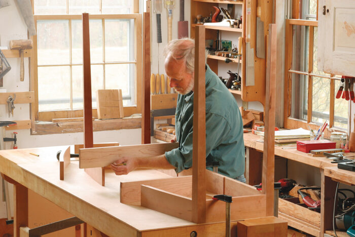 hall table woodworking