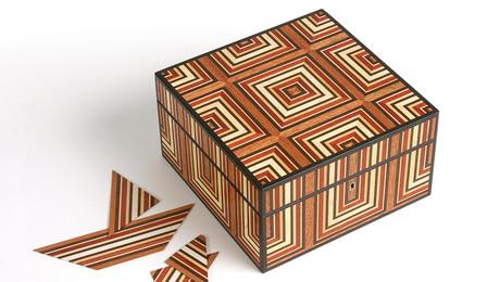 patterned box
