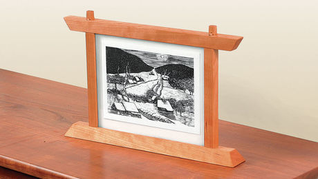 standing picture frame