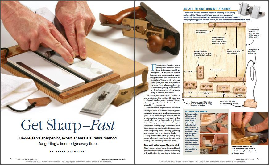 Get Sharp- Fast spread