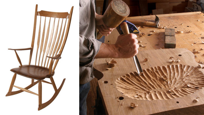Awesome Windsor Rocker Without Special Tools Part 1 Finewoodworking Beatyapartments Chair Design Images Beatyapartmentscom