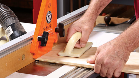 Work More Safely with Featherboards