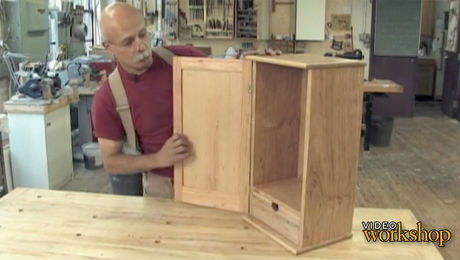 2 Adding The Back And Wall Cleat Finewoodworking
