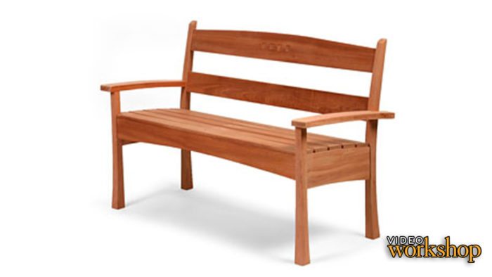 Miraculous Build A Garden Bench Finewoodworking Creativecarmelina Interior Chair Design Creativecarmelinacom