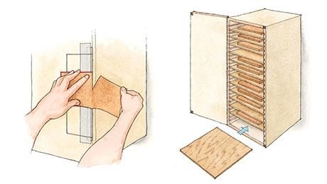 Sandpaper Storage 16x9