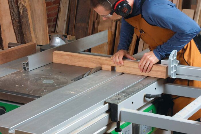 Cut the two shoulders first. Again, you can remove the waste with a series of cuts.