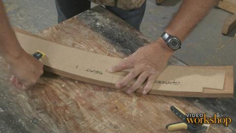 shaping bent laminations
