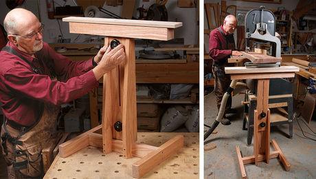 Adjustable Workshop Stand
