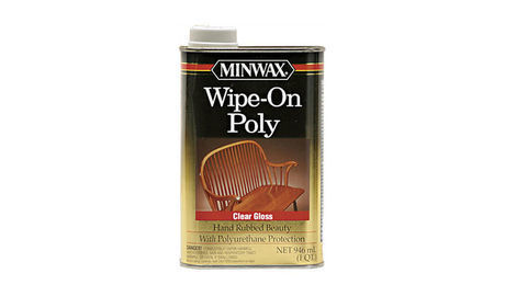minwax wipe on poly finish review test