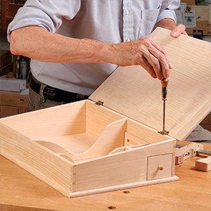 Build a Shaker Lap Desk