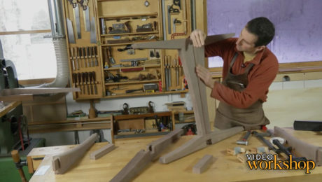 learn how to add hardwood foot pads for a solid tabletop that won't rock