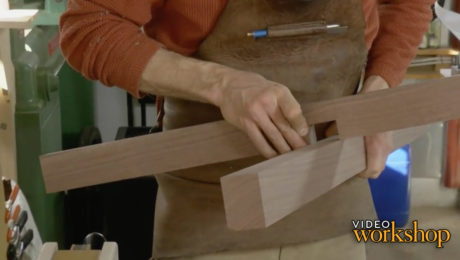 joinery for the pedestal's arm and foot components