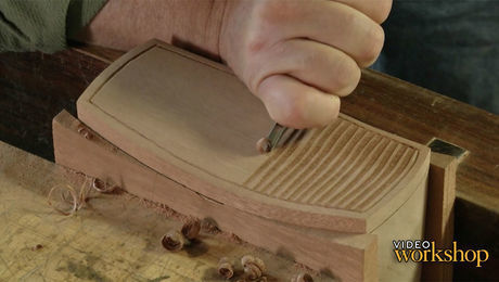 carving on a box