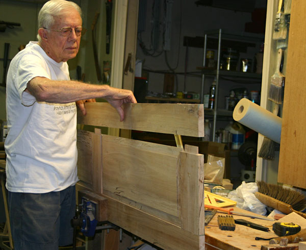 jimmy carter cabinet up for bid jimmy s handmade cabinet finewoodworking 18023