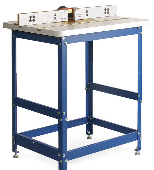 Woodpecker router table is a good value finewoodworking the woodpecker router combines a sturdy steel base a medium density fiberboard mdf top covered with plastic laminate and a versatile fence to create a greentooth Choice Image