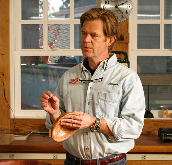 William H Macy Woodturner Finewoodworking