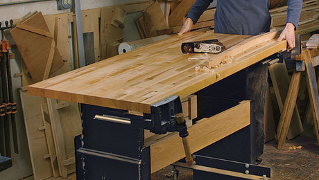 Workbench for Any Height - FineWoodworking