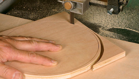 Circle Cutting Bandsaw Jig Finewoodworking