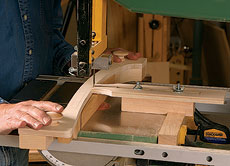 how to cut curves without a bandsaw