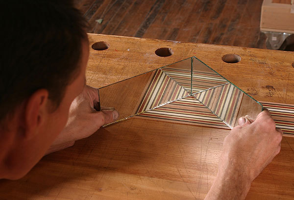 Design Your Own Patterns Using Striped Veneer Finewoodworking