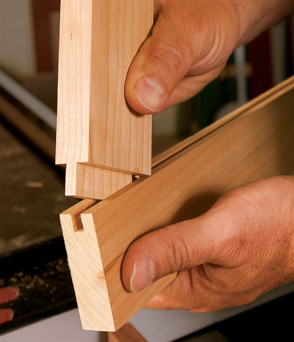 How to cut tenons on the tablesaw with a dado set finewoodworking dado cut tenons keyboard keysfo Images