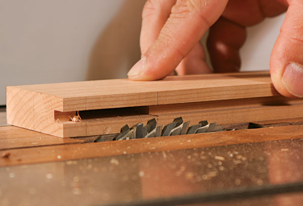High End Table Saw Blades: How To Cut Tenons On The Tablesaw With A Dado Set