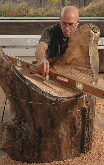 Furniture By Chainsaw Finewoodworking