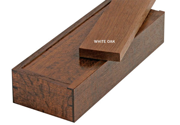 Fume Free Oak This Box Looks Like Its Made From Fumed Or Stained Actually The Has Been Heat Treated A Process That Darkens Wood Throughout