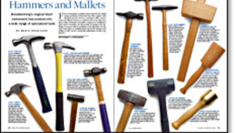 Hammers And Mallets Finewoodworking