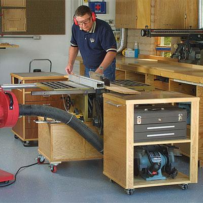Roll Away Workshop Finewoodworking