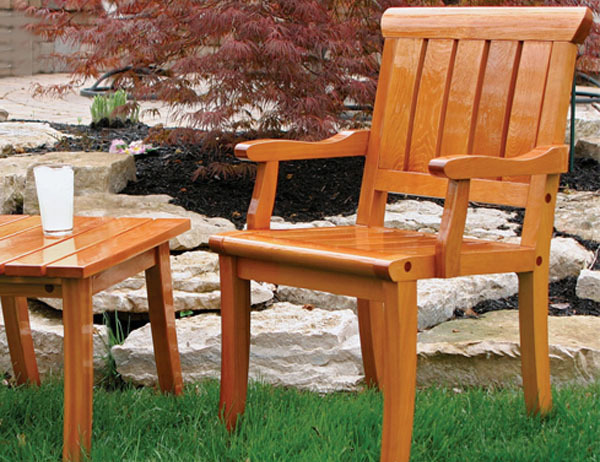 Synopsis: On Any Piece Of Wood Exposed To The Elements, Whether It Is Your  Front Door Or The Patio Furniture, A Durable Finish Is Crucial.
