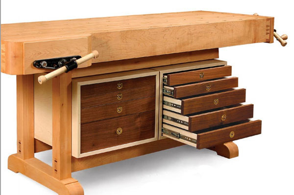 Article Image. Synopsis This workbench tool cabinet ...  sc 1 st  Fine Woodworking & Tool Cabinet for a Workbench - FineWoodworking