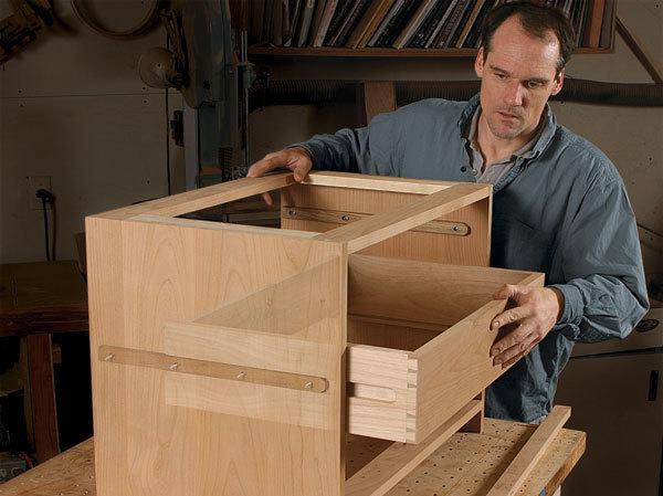 Side Hung Drawer Slides Finewoodworking