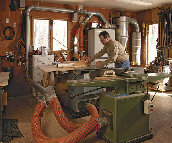 Dust Collection Demystified Finewoodworking