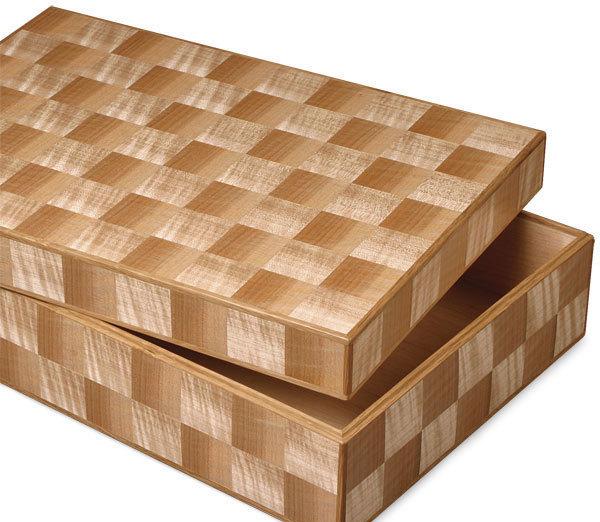 Elegant Veneered Boxes - FineWoodworking
