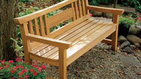 Russell Jensens Japanese Garden Bench FineWoodworking – Japanese Garden Bench Plans