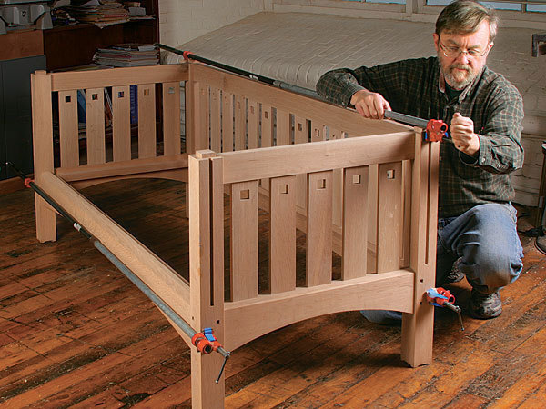 Build A Prairie Settle Finewoodworking