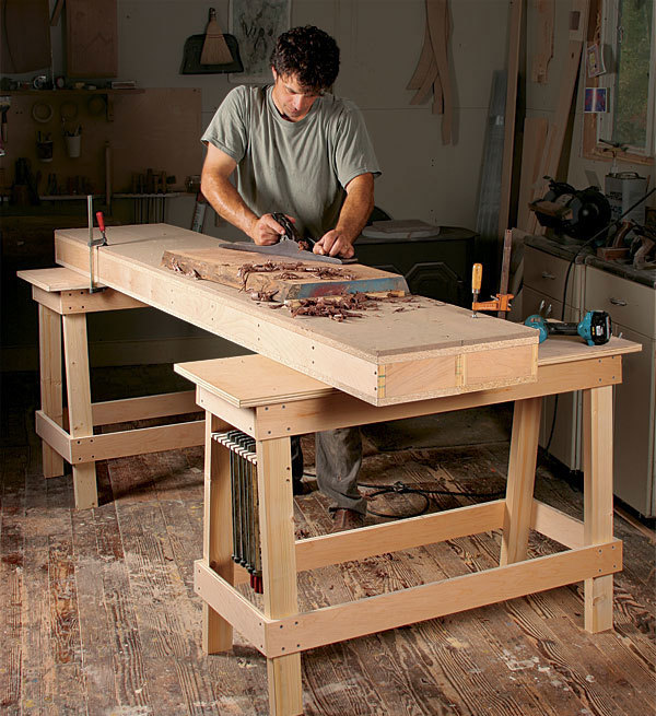 Forget What You Know About Workbenches Finewoodworking
