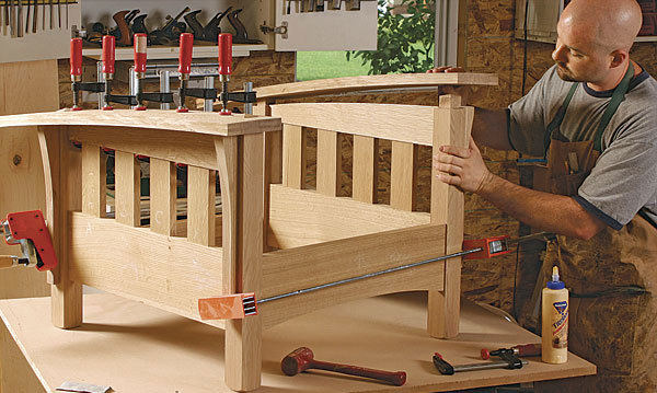 How To Build A Bow Arm Stickley Morris Chair Finewoodworking