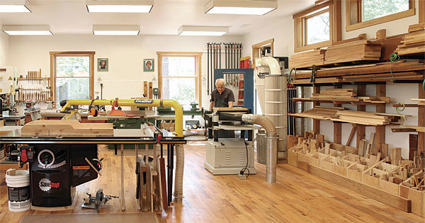 Ultimate One Man Shop Finewoodworking