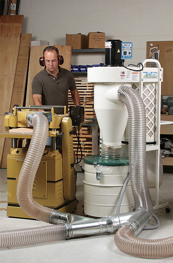 A Revolution In Dust Collection Finewoodworking
