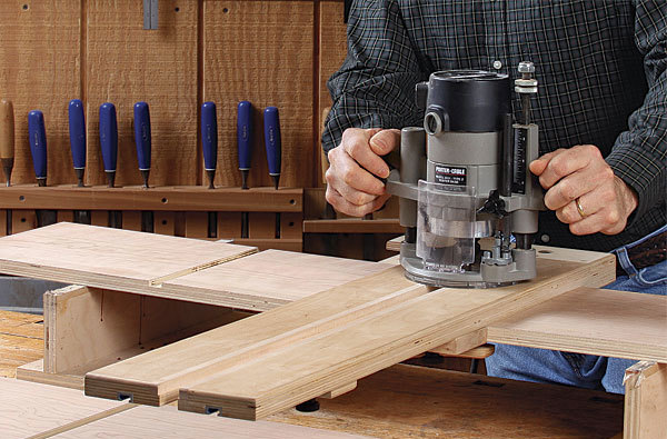 How To Build A Dado Jig Finewoodworking