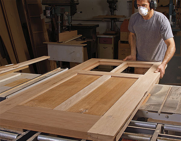 How To Build Your Own Front Door Finewoodworking