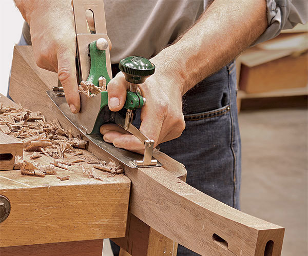 Why You Need a Compass Plane - FineWoodworking