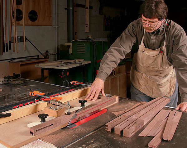 Perfect Tapers On The Tablesaw Finewoodworking