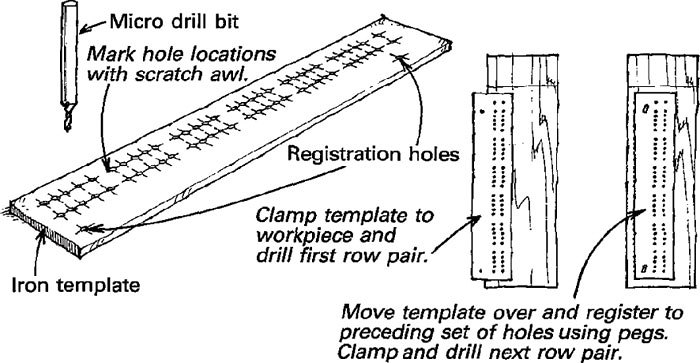 Boring cribbage board holes revisited finewoodworking heres a cribbage board drilling method thats more straightforward than the one offered by charles whitney in fine woodworking 92 p 20 maxwellsz