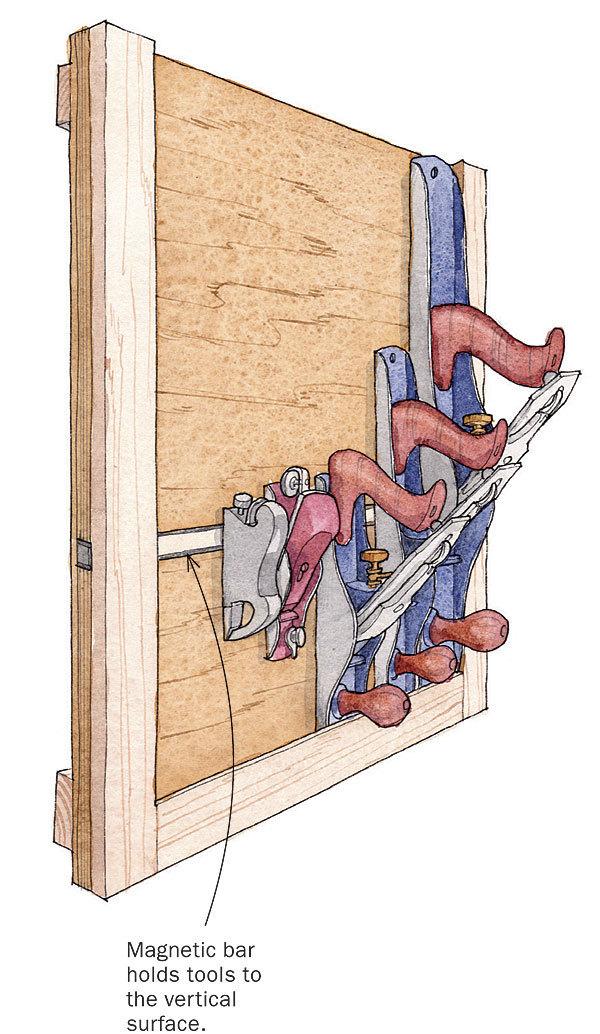 Simple Storage Rack For Handplanes Finewoodworking
