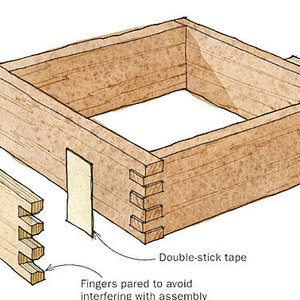 leigh isoloc hybrid dovetail templates - playing card profile gauge is a good deal finewoodworking