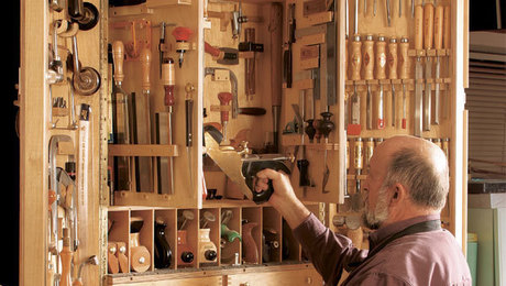 Hanging A Heavy Tool Cabinet Finewoodworking