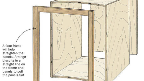 how to fix warped wood door